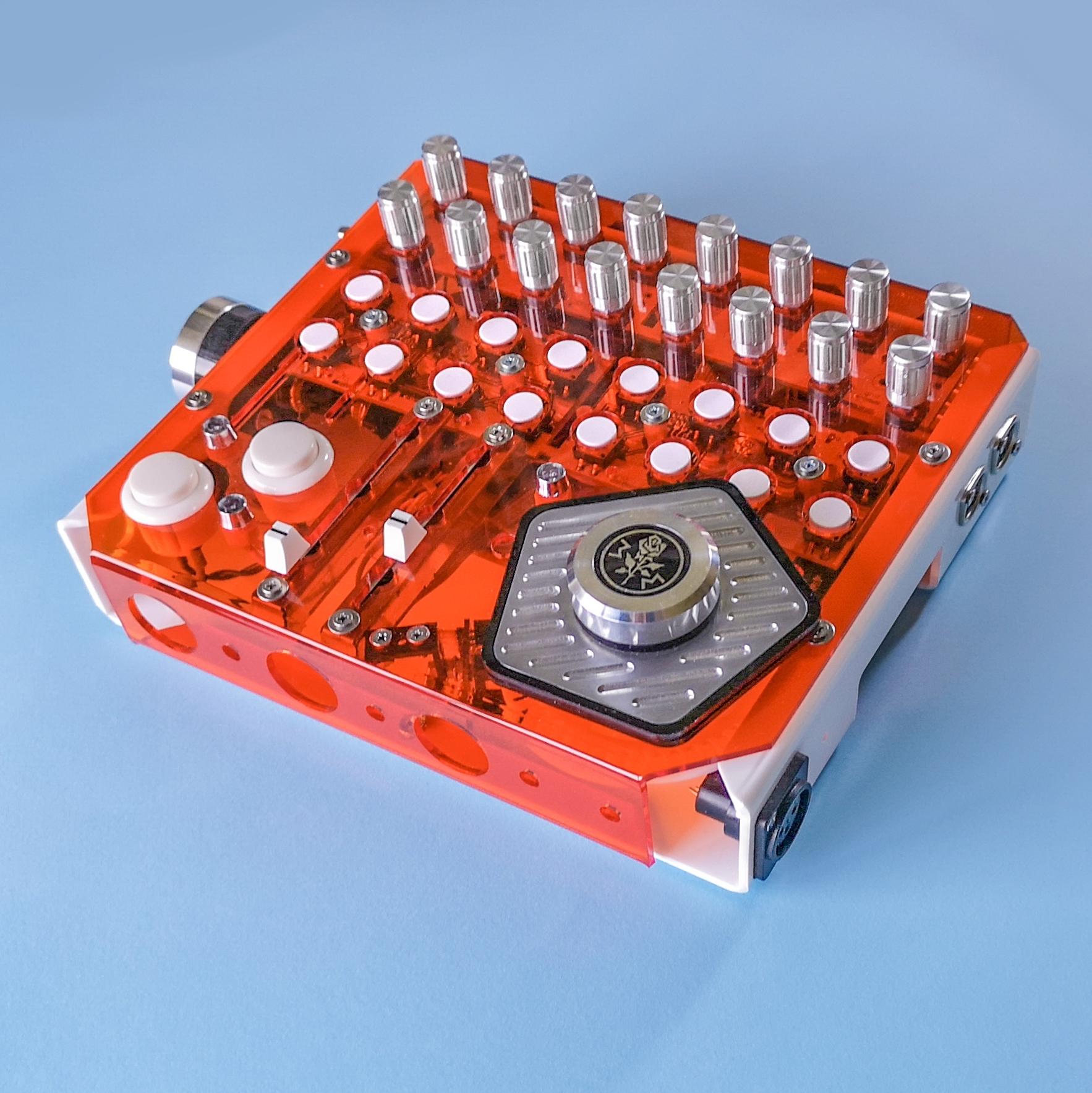 DART ONE MIDI DMX USB Arduino open dj controller DIY